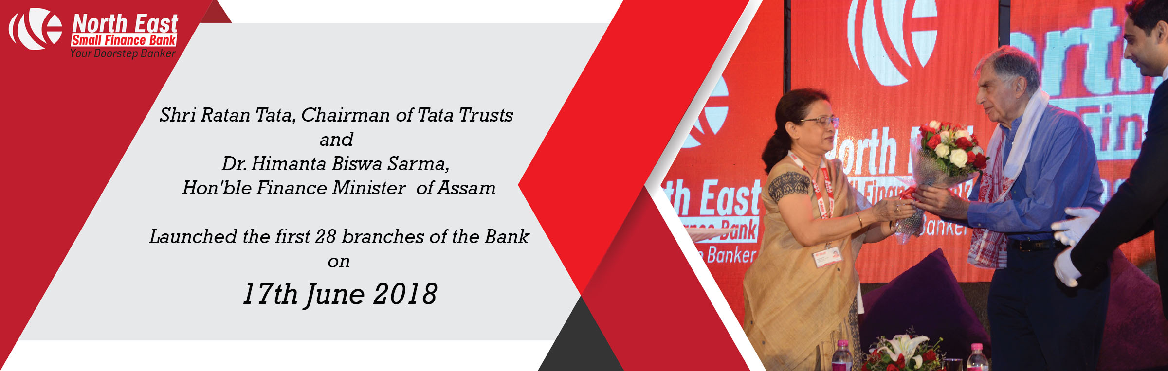 Welcome to North East Small Finance Bank